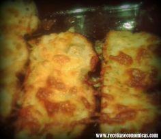 Pão de alho - Minhas Receitas Económicas: 25 minutos Pizza, Cheese, Food, Garlic Bread, Recipes, Meal, Eten, Meals