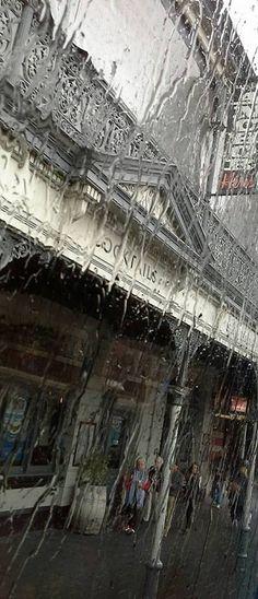 Fremantle rain