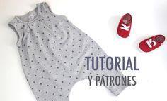Salopette sarouel pour bébé - couture tuto, couture facile pour débutant