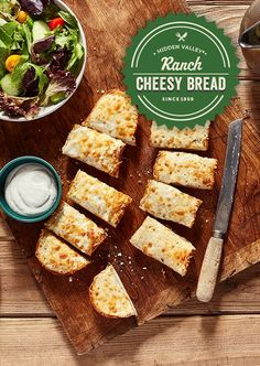 Cheesy goodness has never been so delicious.   Recipe: http://hiddnval.ly/9RFYqq