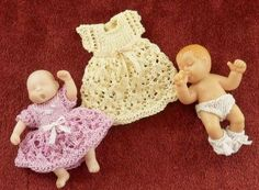 Jan's Minis - Jan Pearce -Lace dress for Lilly