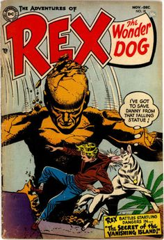The Adventures Of Rex The Wonder Dog #18, December 1954