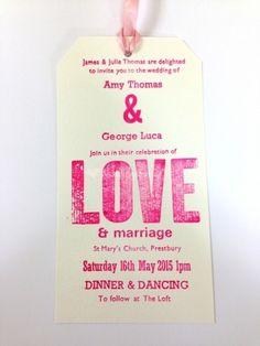 Wedding invitation from Retro Press | Photo 8