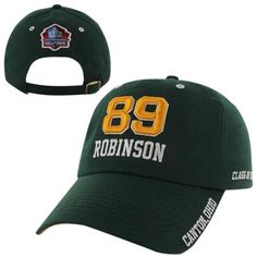 Dave Robinson Green Bay Packers NFL Hall of Fame Class of 2013 Adjustable Slouch Hat - Green