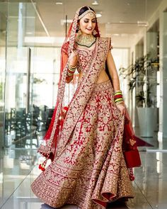 Anushka Sharma's Dreamy Sabyasachi Lehenga Can Now Be Yours Wedding Lehnga, Indian Bridal Lehenga, Indian Bridal Outfits, Indian Bridal Wear, Indian Dresses, Bridal Dresses, Dress Wedding, Sabyasachi Lehenga Bridal, Pink Bridal Lehenga