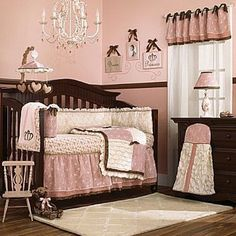 I LOVE THIS! Have to have it. CoCaLo Daniella 8 Piece Crib Bedding Set