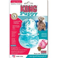 Kong Puppy Teething Toy on Sale | Free UK Delivery | PetPlanet.co.uk