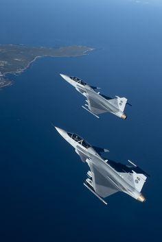 "robotpignet: "" SAAB JAS39 Gripen "" Military Jets, Military Aircraft, Air Fighter, Fighter Jets, Saab Jas 39 Gripen, Swedish Air Force, South African Air Force, Aircraft Design, Jet Plane"