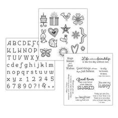 Get this exclusive You Are My Happy stamp set trio in celebration of National Stamping Month! Place a qualifying order of $50 or more during the month of September for only $10! When you take advantage of the Trio Promo you also qualify to receive the September Stamp of the Month for only $5!  Happy Stamping! karenbursh.ctmh.com