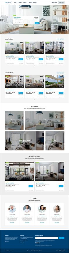 Houzez is a professional responsive #HTML Bootstrap #template for #realestate agents and companies website with multiple homepage layouts download now➩ https://themeforest.net/item/houzez-real-estate-html-template/19062100?ref=Datasata