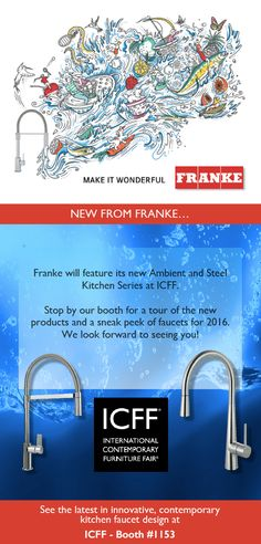 Visit Franke in booth 1153 this May!