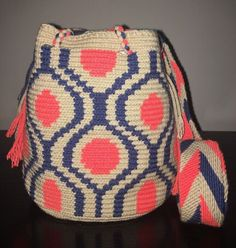 Gorgeous Original Colombian Handmade Wayuu Small  Mochila Bag shoulder Crossbody | Clothing, Shoes & Accessories, Women's Handbags & Bags, Handbags & Purses | eBay!