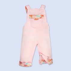 Camellia Pink Dungarees | Mimo