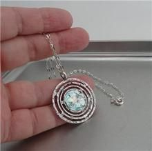 """Details about  /18/""""9-11MM PERFECT ROUND NATURAL WHITE GRAY GOLD PEARL PENDANT NECKLACE"""