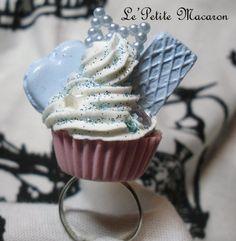 $5.00 Sweet Lolita Cupcake Ring 41 Sweet Bow