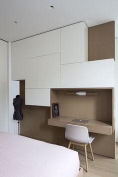 Brownstone House by Studio Arthur Casas Home Office, Home Studio, Contemporary, Cabinet, Interior Design, Storage, Refurbishment, Work Spaces, Bedroom Inspiration