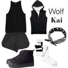 """Kai - Wolf"" by clemerina on Polyvore Definitely want this"