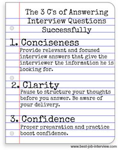 Job Interview Questions and Best Interview Answers - Education Job - Ideas of Education Job - How to answer common interview questions confidently and clearly. Sample Job Interview Questions, Job Interview Preparation, Interview Skills, Interview Questions And Answers, Job Interview Tips, Job Interviews, Preparing For An Interview, Job Resume, Resume Tips