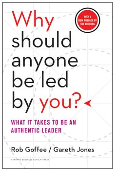 Goffee and Jones on how we view, develop, and practice the art of authentic leadership, wherever we live and work.