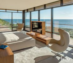 Light Brown and Gray Modern Master Bedroom