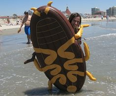 A Pest in the Water: Giant Cockroach Float