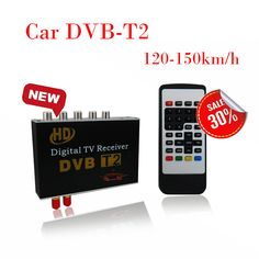 120-150km/h DVB-T2 Car HD TV Tuner Box TV Receiver BOX Comply with DVB-T2 and H.264 MPEG-4 MPEG-2 Standard. #150km #Tuner #Receiver #Comply #with