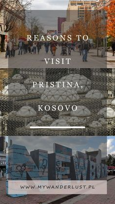 Pristina, Kosovo isn't the most beautiful city but it's definitely an interesting place! Here are the top reasons to visit Pristina, Kosovo! #travel #balkans #kosovo #pristina #citybreak