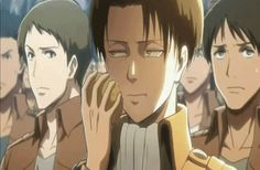Oooo... Levi going to get in trouble