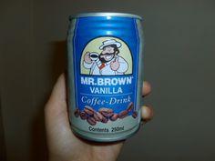 Lekkere koffie van een blikje! Mr. Brown Vanilla! #Lekker #Koffie