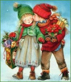 Mesothelima: 131 Happy Merry Christmas 2019 Wishes and Images Merry Christmas Song, Christmas Scenes, Christmas Pictures, Christmas Art, Christmas Greetings, Winter Christmas, Christmas 2019, Vintage Greeting Cards, Vintage Christmas Cards