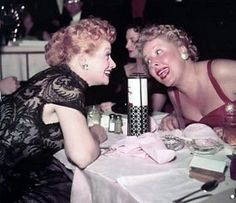 Lucy and Vivian Vance