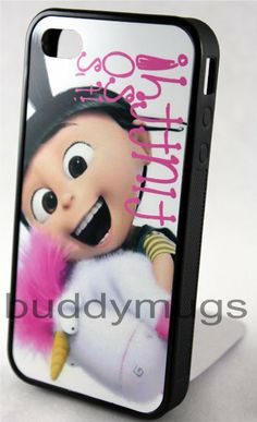 Amazon.com: NEW Iphone 4 4s Case Cover Unicorn Movie Despicable Me 2 Minions (SHIPS FROM ALABAMA): Cell Phones & Accessories