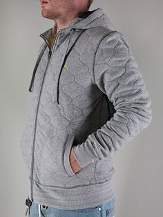 NEW ERA  QUILTED HOOD  Felpa Cappuccio Zip - grey  € 70,00  MORE INFOS: http://www.moveshop.it/ecommerce/index.php/it/articolo/25190/5232/QUILTED%20HOOD
