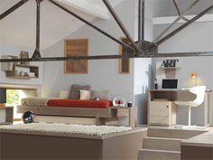 Teenage bedroom TWEED by GAUTIER FRANCE #bedroom #ABC  - popculturez.com
