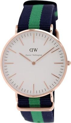Daniel Wellington Male Warwick  Watch  0105DW Rose Gold Analog Sale price. $126.95