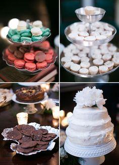 Wedding desserts table, wedding cakes, Real Wedding Ideas