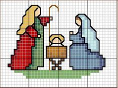 Thrilling Designing Your Own Cross Stitch Embroidery Patterns Ideas. Exhilarating Designing Your Own Cross Stitch Embroidery Patterns Ideas. Cross Stitch Christmas Ornaments, Xmas Cross Stitch, Cross Stitch Cards, Christmas Embroidery, Christmas Cross, Cross Stitching, Cross Stitch Embroidery, Embroidery Patterns, Christmas Nativity