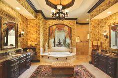 Mediterranean Style House Plan - 6 Beds 5 Baths 6568 Sq/Ft Plan #135-202 Photo - Houseplans.com