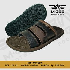 M-GEE Footwear MG-ORTEGA Black