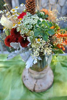 Rustic Fall Wedding flowers
