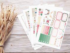 Planner Stickers | Weekly Kit - Summer Love | Erin Condren Vertical