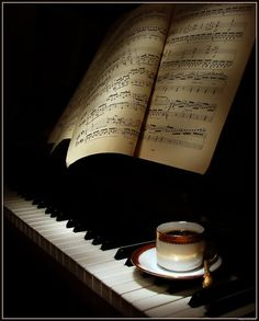 Two of my favorite things...Coffee & Music.. ;)