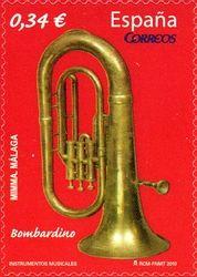 (Musical Instruments - The Euphonium) Musical Instruments, Musicals, Instrumental, Music Instruments, Stamps, Instruments, Instrumental Music, Musical Theatre