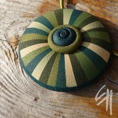 Pendant   Polymer clay jewellery   Eva Haskova   Flickr