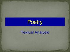term papers on poetry