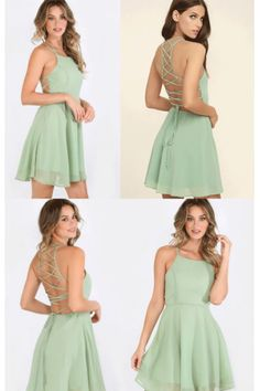 On Sale Mint Homecoming Dresses, Short Homecoming Dresses, Short Mint Prom Dresses ,Straps Prom Dresses #homecomingdresses #shortpromdresses #minihomecomingdress #partydress #sexydress