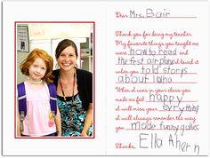FREE Teacher's Gift/Card printable by Plucky Momo.
