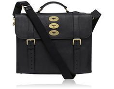Mulberry - Ted in Black Natural Leather