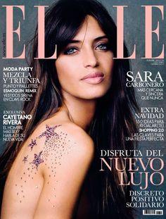 Sara Carbonero portada de Elle