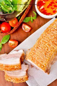 Food Affair Vietnam: Crispy roast pork belly (Thit heo quay)